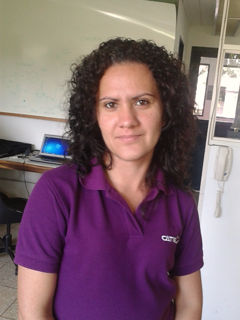 Cindy Castillo Rojas, Laboratory Assistant, Bioversity International