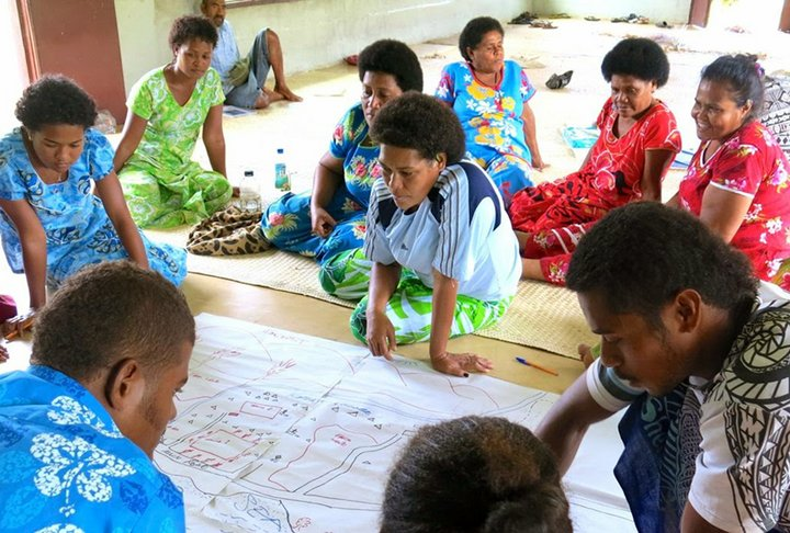 Focus group discussion in Fiji. Credit: Bioversity International/D.Mijatovic