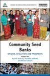 Cover of community seedbanks book