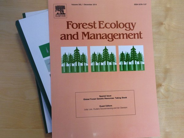Forest Ecology and Management special edition. Photo: Bioversity International/M.Millere