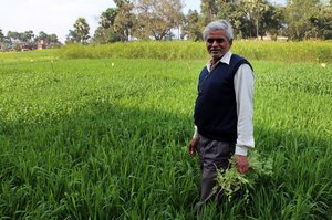 Jagdish Singh, farmer from Mukundpur, Bihar. Credit: Bioversity International/P. Quek