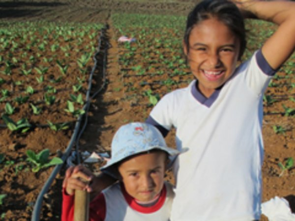 Children of farmers we work with in Latin America Credit: Bioversity International/M.Beltran