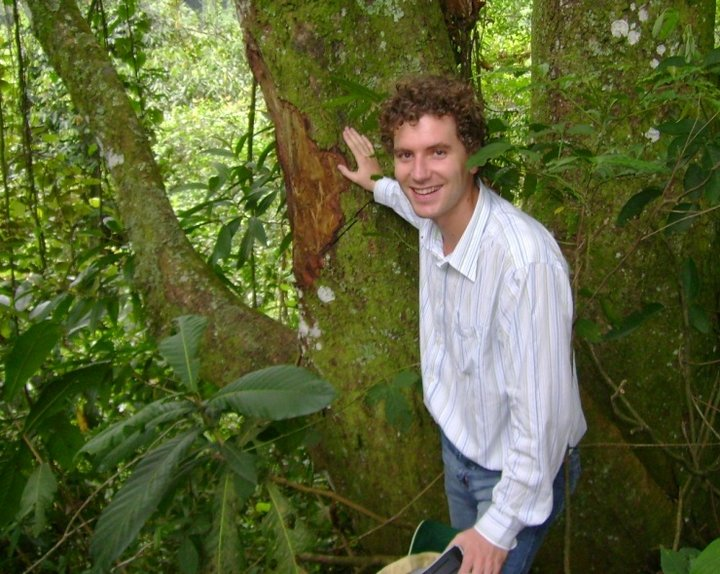 Maarten van Zonneveld, Associate Scientist in diversity analysis for conservation and use, based in Bioversity International's Colombia office.