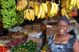 Market in Kenya. Credit: Bioversity International/A. Vezina