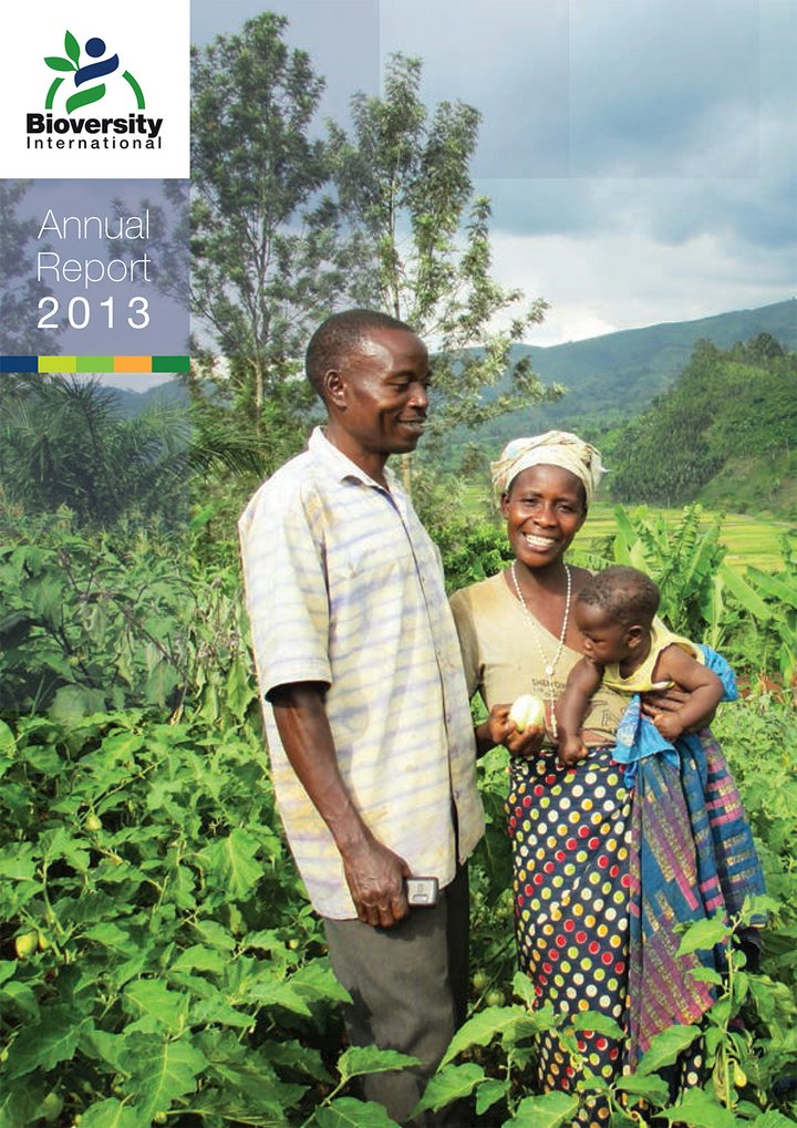 Bioversity International Annual Report 2013
