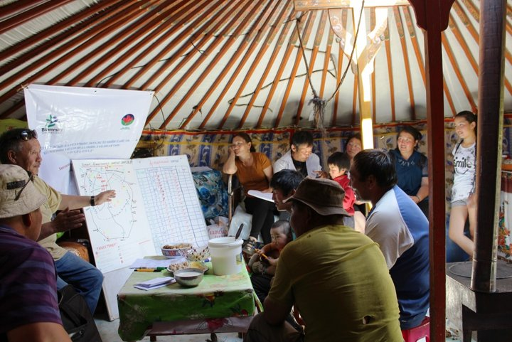 Co-management meeting in Mongolia. Credit: Bioversity International/R.Vernooy