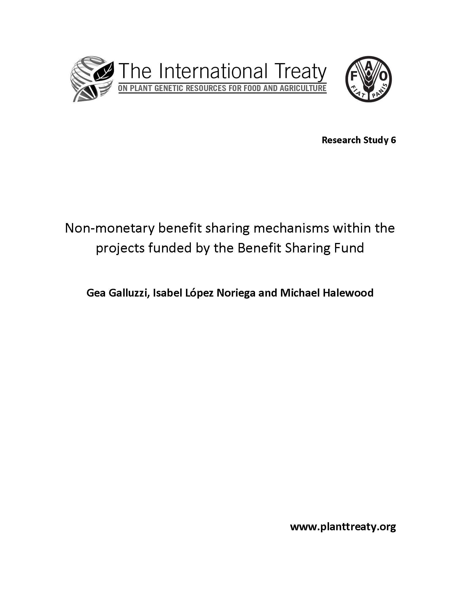 Non-monetary benefit sharing mechanisms within the projects funded