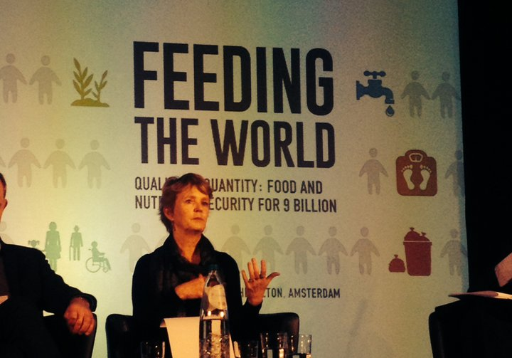 Ann Tutwiler, Director General of Bioversity International at The Economist's Feeding the World Conference 2015