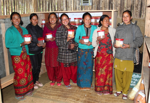 Custodians of seedbank in Nepal. Credit: Bioversity International/R.Vernooy